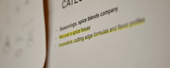 Seasonings , spice blends company