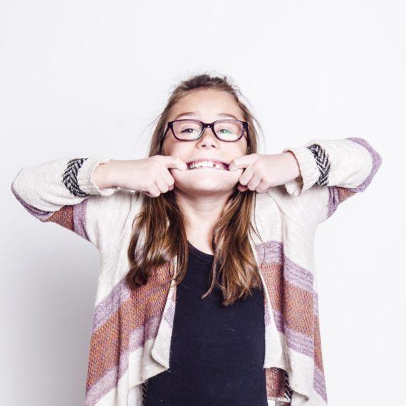 Bubon Orthodontics Girl Smile Silly