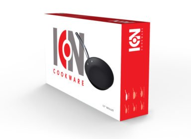 columbian cookware package design